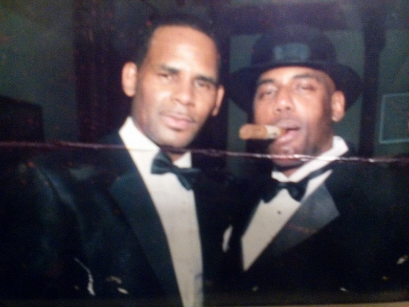 R. Kelly's siblings - brother Bruce Kelly