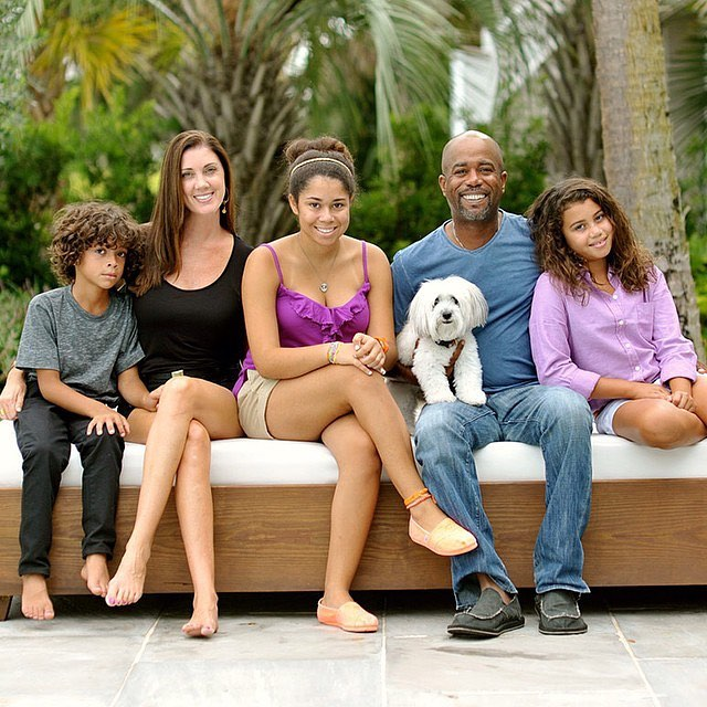 Darius Rucker's family - wife Beth and kids