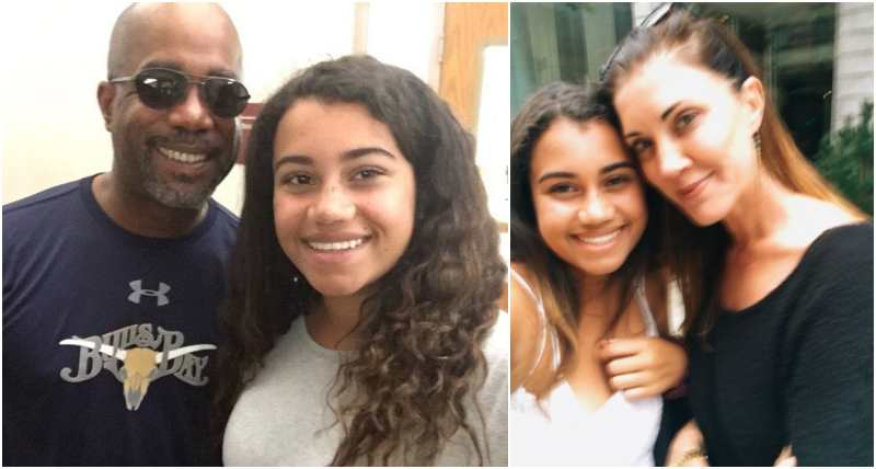 Darius Rucker's children - daughter Daniella Rose Rucker