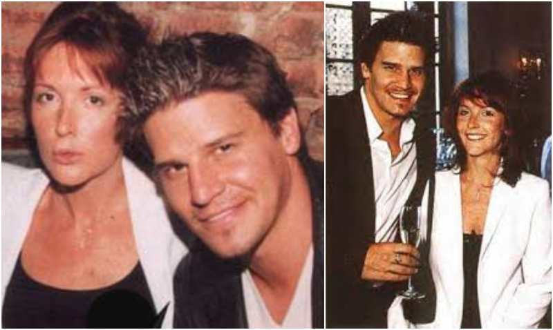 David Boreanaz's family - ex-wife Ingrid Quinn