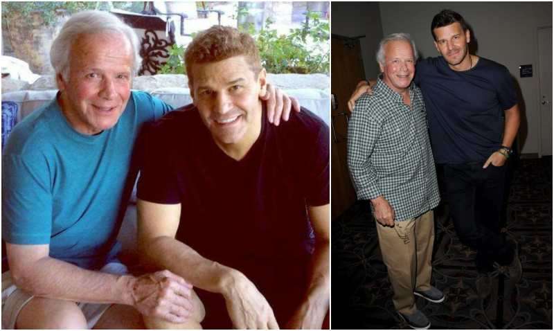 David Boreanaz's family - father Dave Roberts