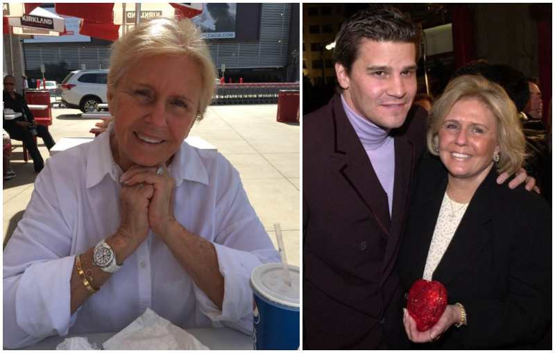 David Boreanaz's family - mother Patti Boreanaz