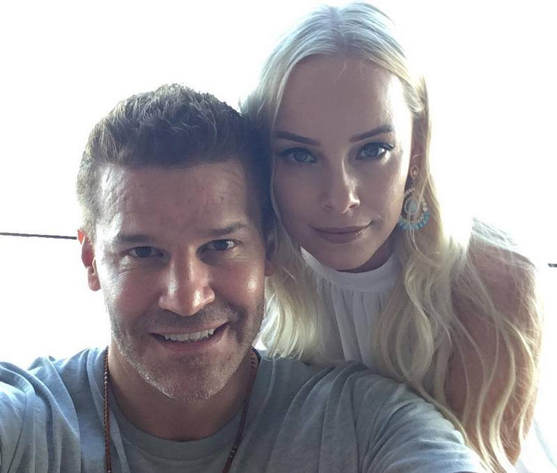 David Boreanaz's family - wife Jaime Ann Bergman