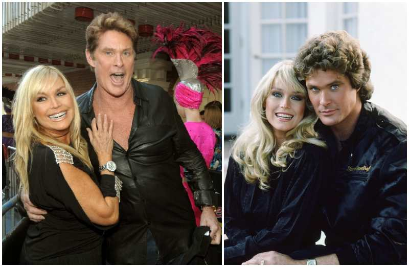 David Hasselhoff's family - ex-wife Catherine Hickland