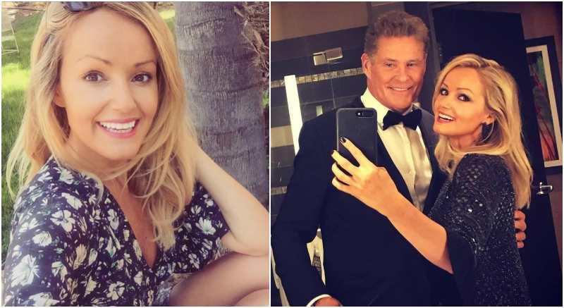 David Hasselhoff's family - fiancée Hayley Roberts