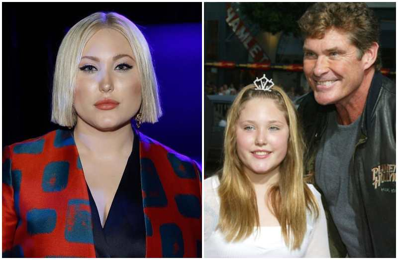 David Hasselhoff's children - daughter Hayley Amber Hasselhoff