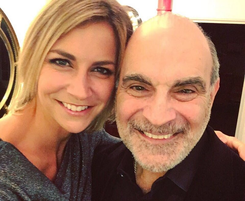 David Suchet's children - daughter Katherine Suchet