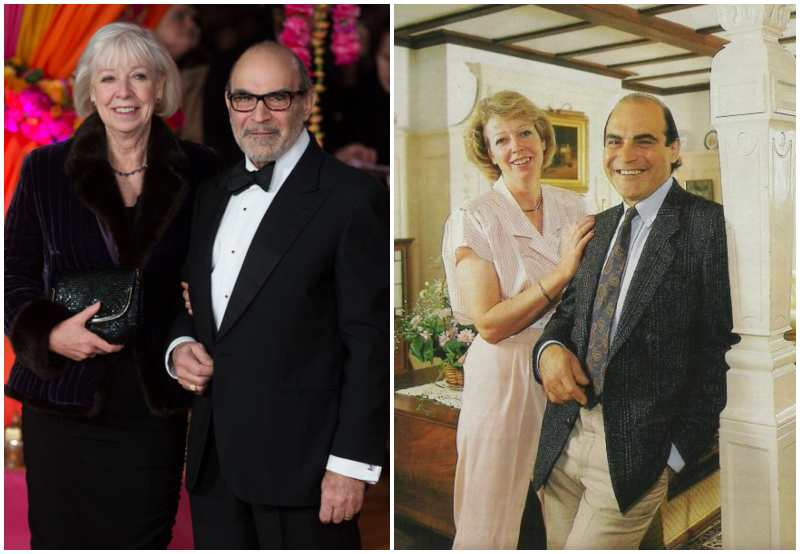 David Suchet's family - wife Sheila Ferris