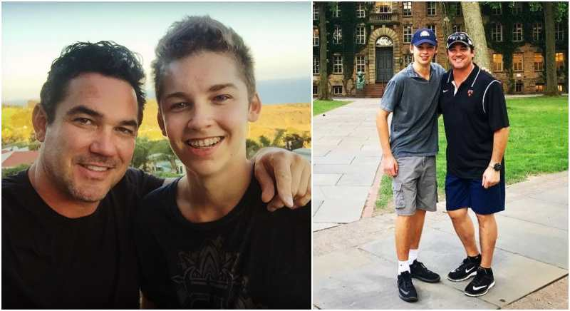 Dean Cain's children - son Christopher Dean Cain