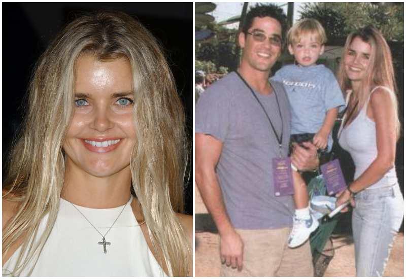 """Dean Cain's family - ex-partner Samantha """"Emma"""" TorresWaldron"""