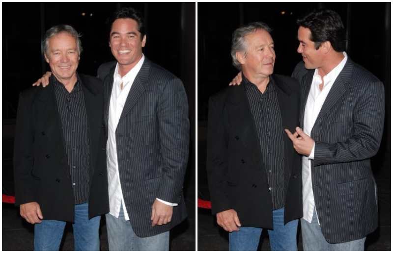 Dean Cain's family - father Christopher Cain