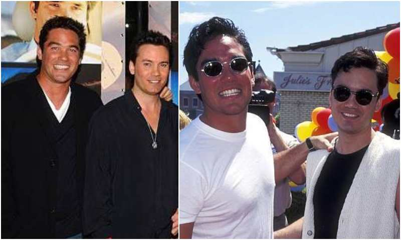 Dean Cain's siblings - brother Roger Cain