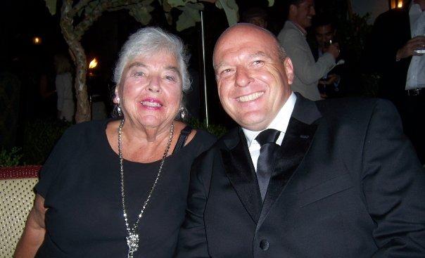 """Dean Norris' family - mother Rosemarie """"Rosie"""" Norris"""