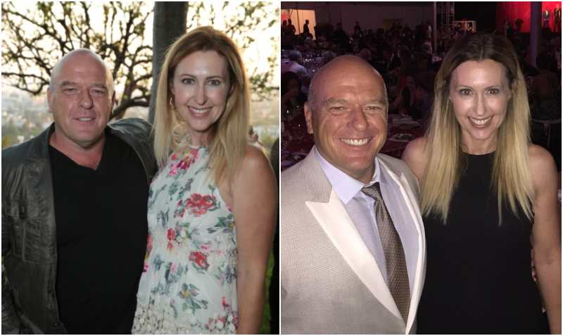 Dean Norris' family - wife Bridget Sorenson Norris