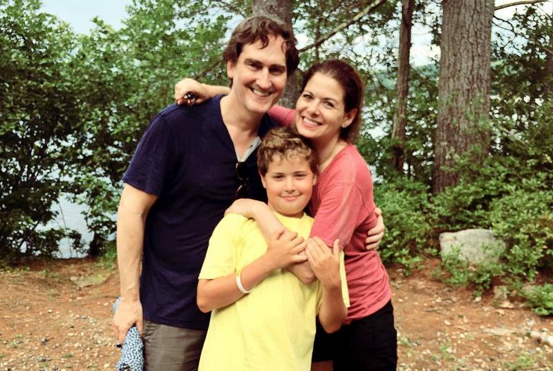 Debra Messing's family - ex-husband Daniel Zelman