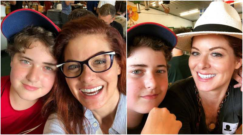 Debra Messing's children - son Roman Walker Zelman