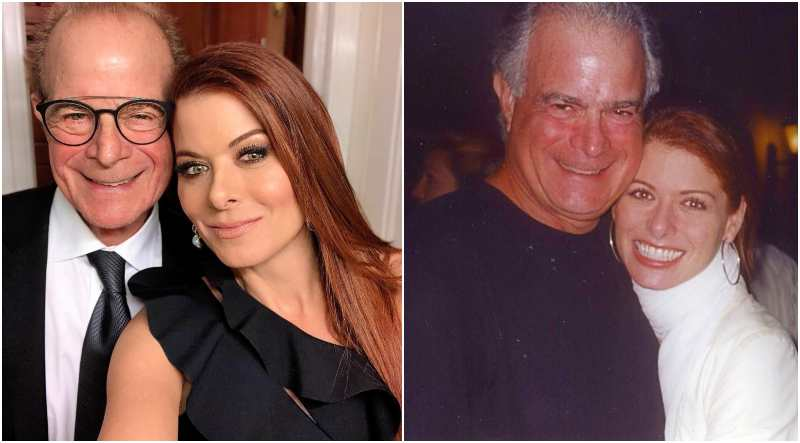 Debra Messing's family - father Brian Messing