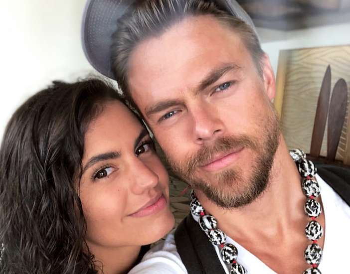 Derek Hough's family - girlfriend Hayley Erbert