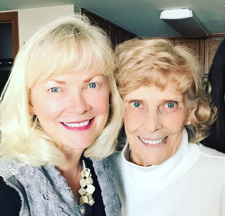 Derek Hough's family - maternal grandmother Beth Romaine Heaton