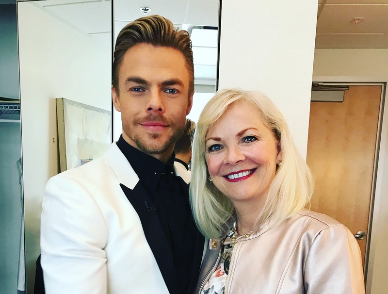 Derek Hough's family - mother Marriann Hough