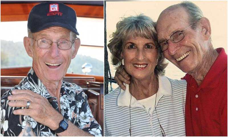 "Derek Hough's family - paternal grandfather Robert ""Bubblehead Bob"" Hough"