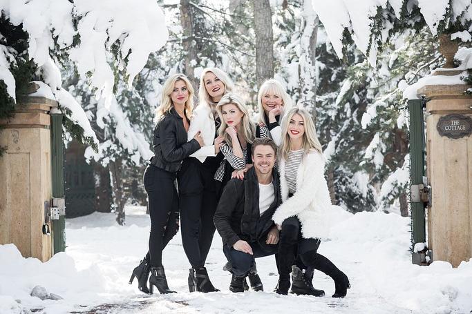 Derek Hough's family