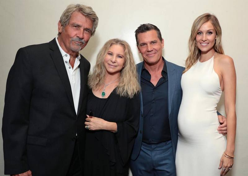 Josh Brolin's family - father James, step-mother and wife