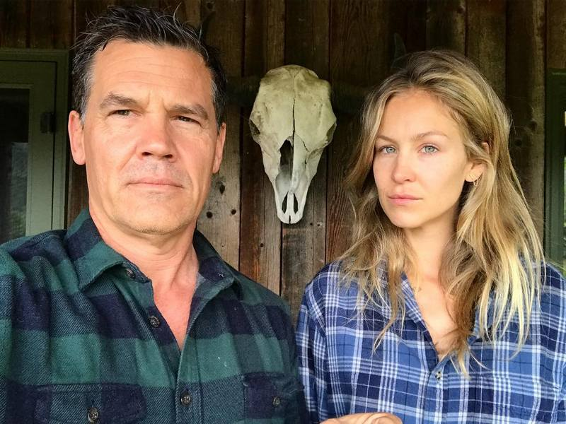 Josh Brolin's family - wife Kathryn Boyd