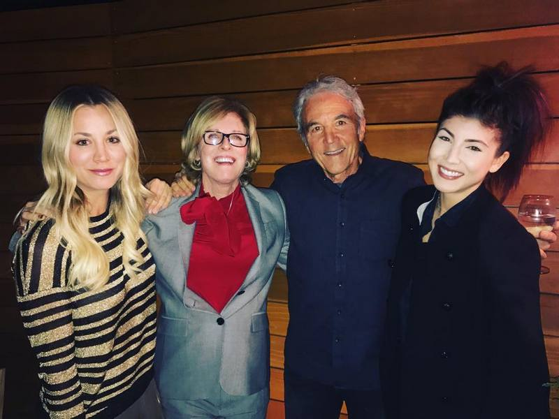 Kaley Cuoco's family - parents and sister