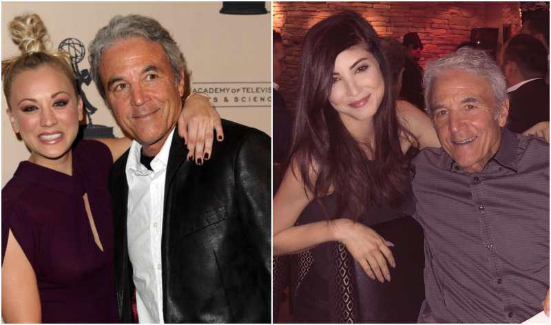 Kaley Cuoco's family - father Gary Carmine Cuoco