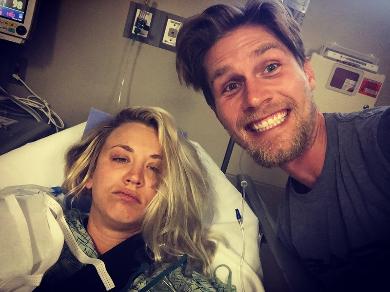 Kaley Cuoco's family - husband Karl Cook