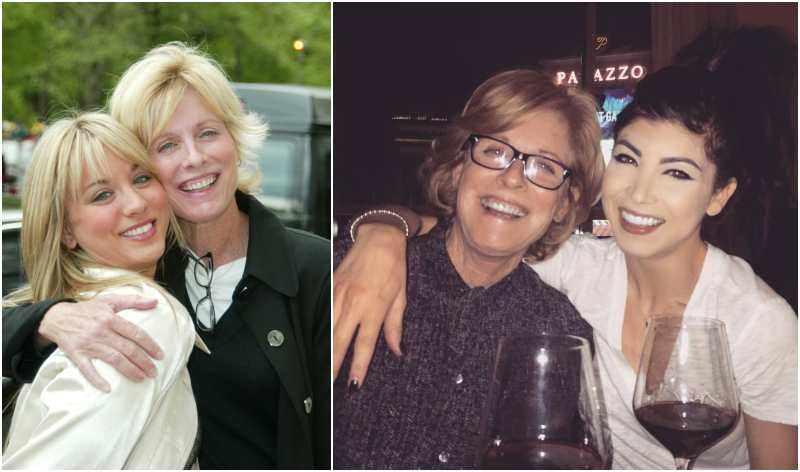Kaley Cuoco's family - mother Layne Anne Cuoco