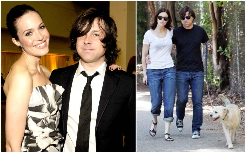 Mandy Moore's family - ex-husband Ryan Adams