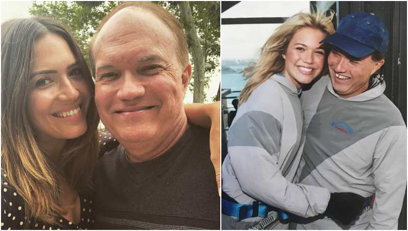 Mandy Moore's family - father Donald Moore