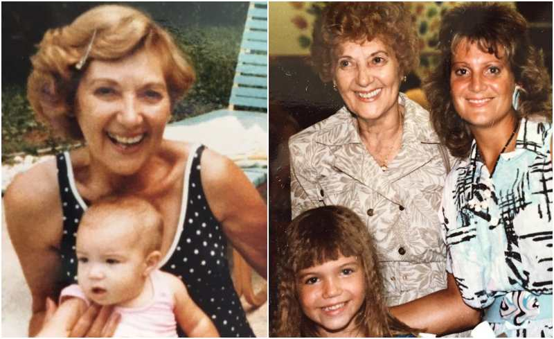 Mandy Moore's family - maternal grandmother Eileen Mary Friedman