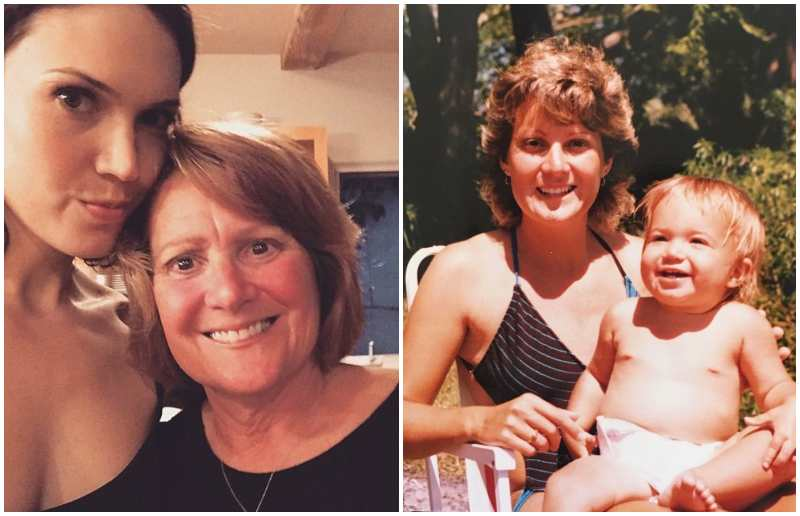Mandy Moore's family - mother Stacy Friedman Moore