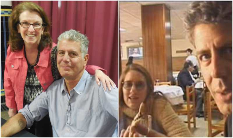Anthony Bourdain's family - ex-wife Nancy Putkoski