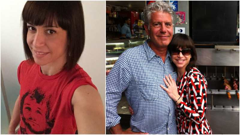 Anthony Bourdain's family - ex-wife Ottavia Busai