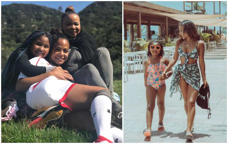 Christina Milian's children - daughter Violet Madison Nash