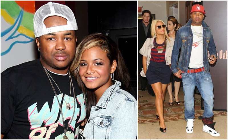 Christina Milian's family - ex-husband The-Dream