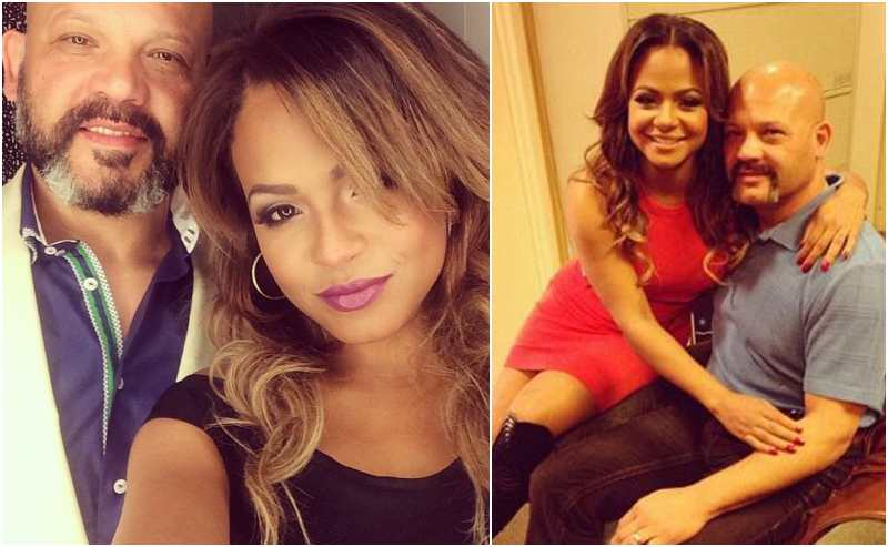 Christina Milian's family - father Don Flores