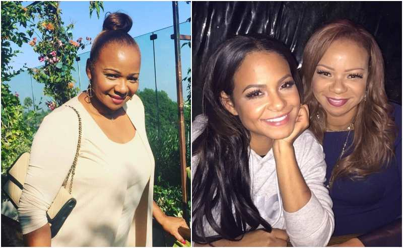 Christina Milian's family - mother Carmen Milian