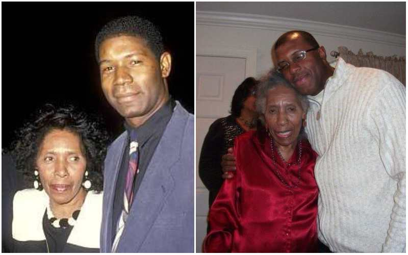Dennis Haysbert family - mother Gladys Haysbert
