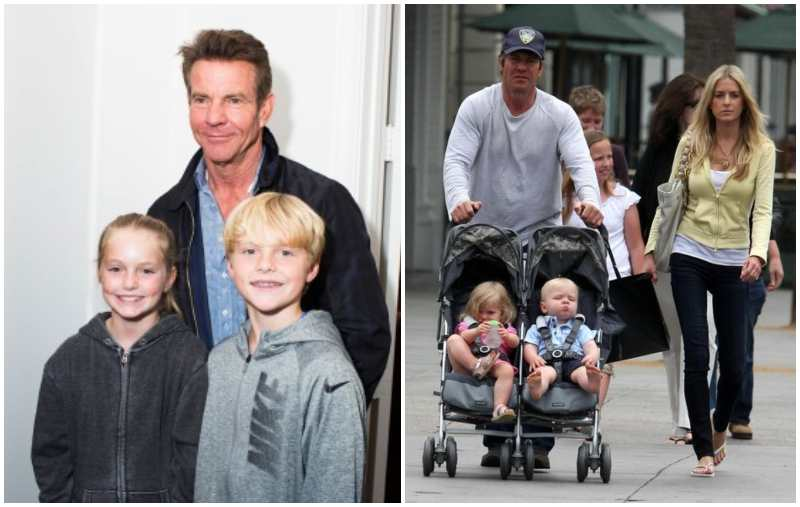 Dennis Quaid's children - twins