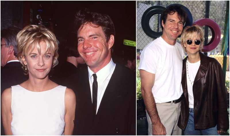 Dennis Quaid's family - ex-wife Meg Ryan