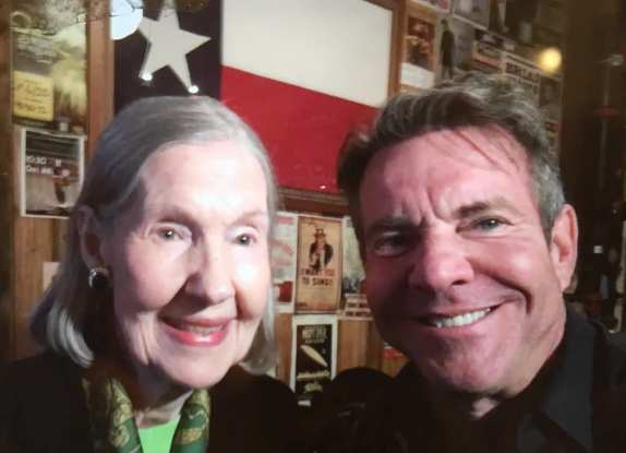 "Dennis Quaid's family - mother Juanita ""Nita"" Bonniedale Jordan"