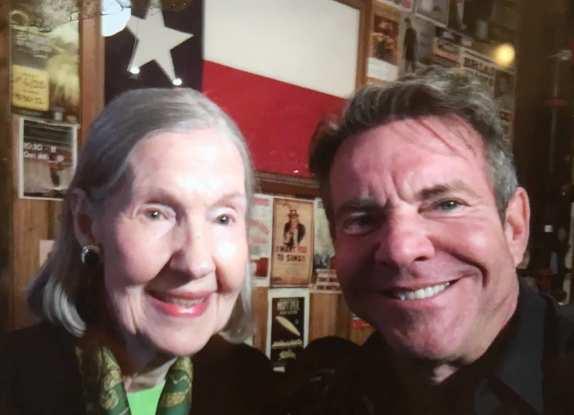 "Dennis Quaid's family - mother Juanita ""Nita"" Bonniedale Jordan"