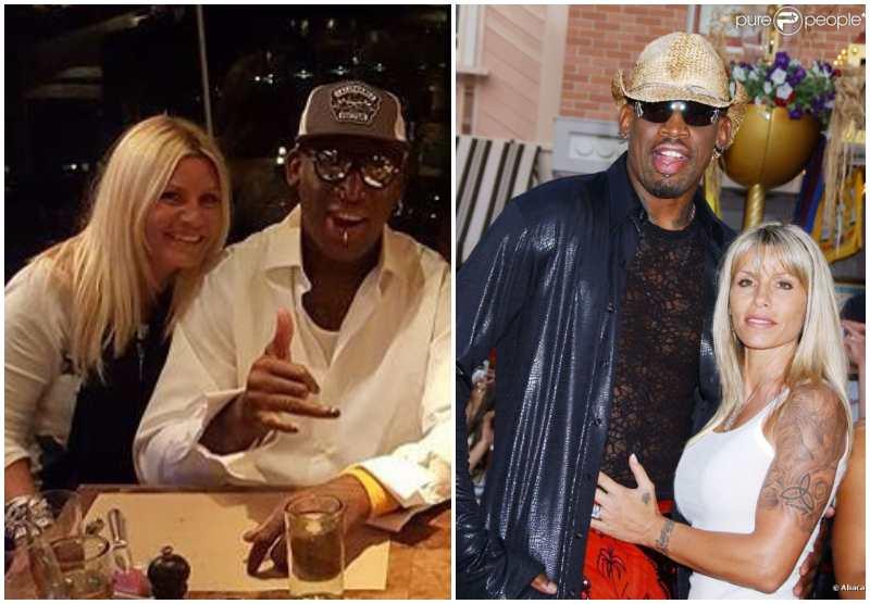 Dennis Rodman's family - ex-wife Michelle Moyer