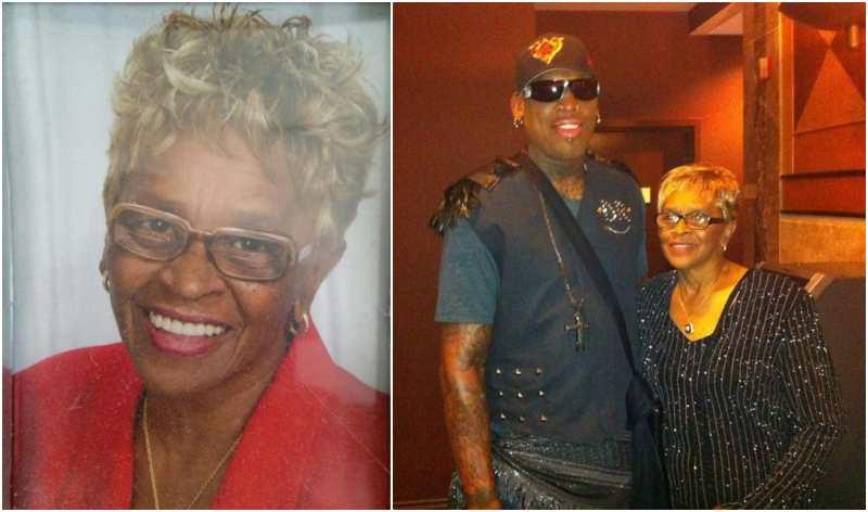 Dennis Rodman's family - mother Shirley Rodman