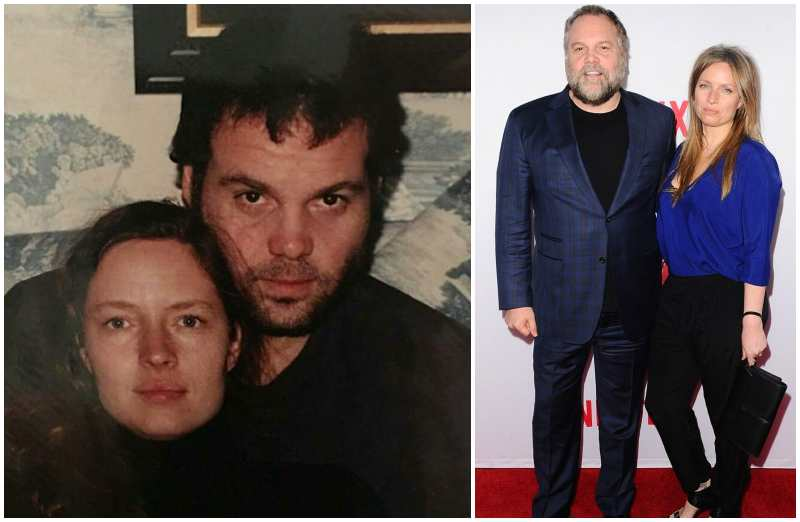 Vincent D'Onofrio's family - wife Carin van der Donk